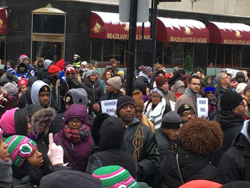 Cincinnatians flooded the streets for the 2018 march to Music Hall.
