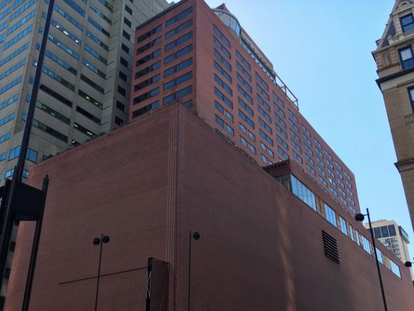 Cincinnati Council Member David Mann wants to designate the former Terrace Plaza Hotel as a local historic landmark.
