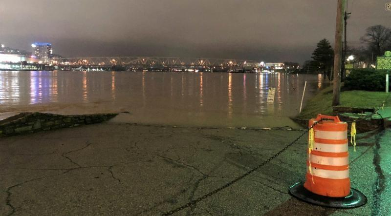 Flooding in Covington