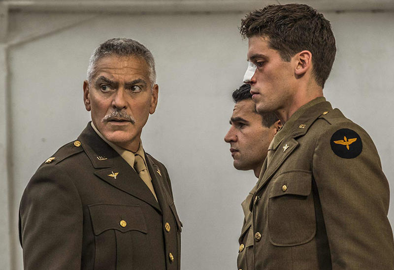 George Clooney, Christopher Abbott and Pico Alexnader star in 'Catch-22' on Hulu.