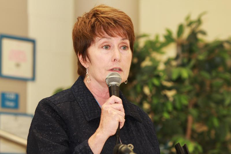 Superintendent Mary Ronan has to cut more than $10 million in the next four weeks to balance the district's budget.