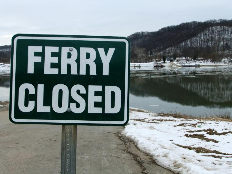 The Anderson Ferry operates 364 days per year unless weather forces a closure.