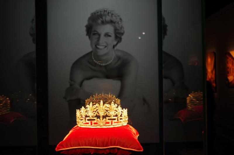 "This is the final stop for the ""Diana, A Celebration"" exhibit. Afterward it will return to England and likely be put in storage."