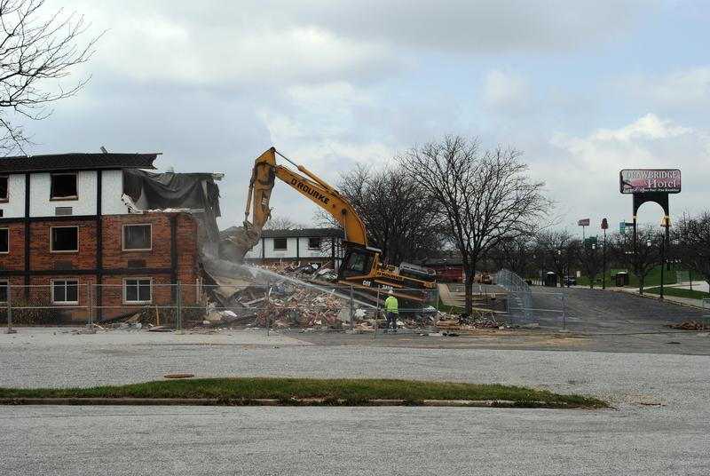 The Drawbridge Inn is coming down...