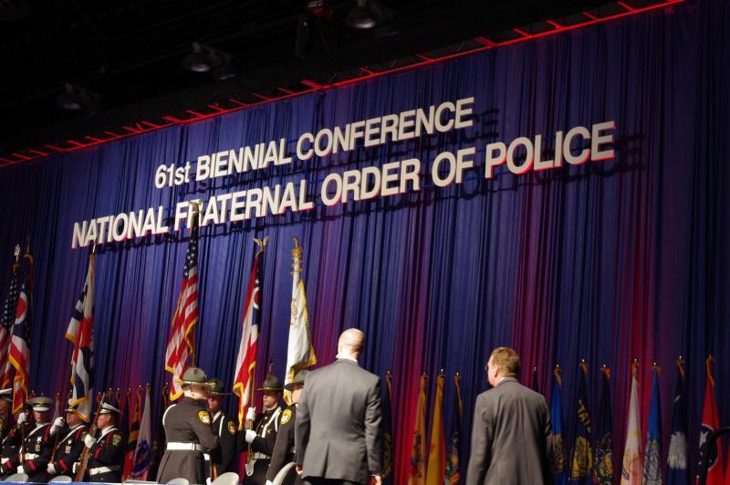 The National FOP convention is in Cincinnati all week.