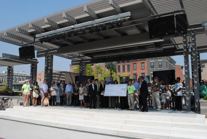 "Interact for Health awarding Green Umbrella a ""$70,000 grant to develop a master plan to connect existing walking and bicycle trails throughout the Greater Cincinnati region."""