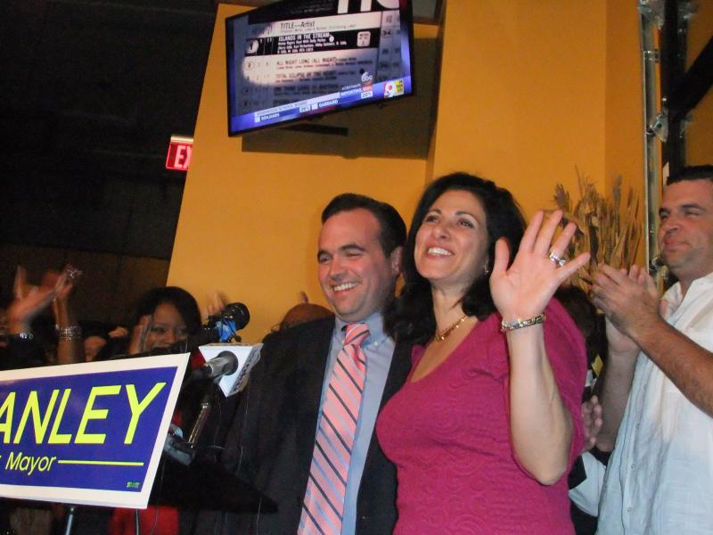 Mayor-elect John Cranley and wife Dena