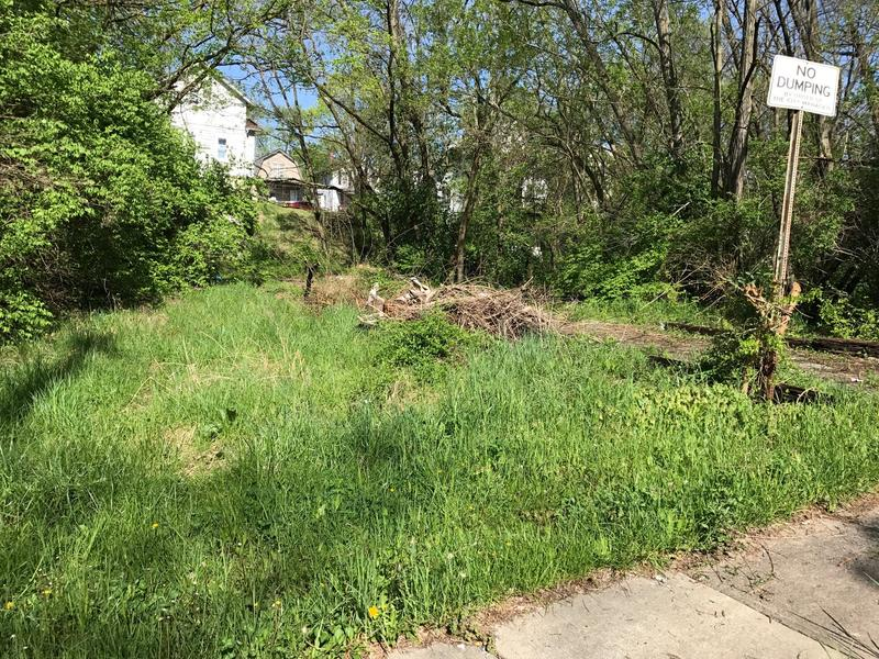 City owned lots on Fairbanks Ave. in East Price Hill that needs cleaned.
