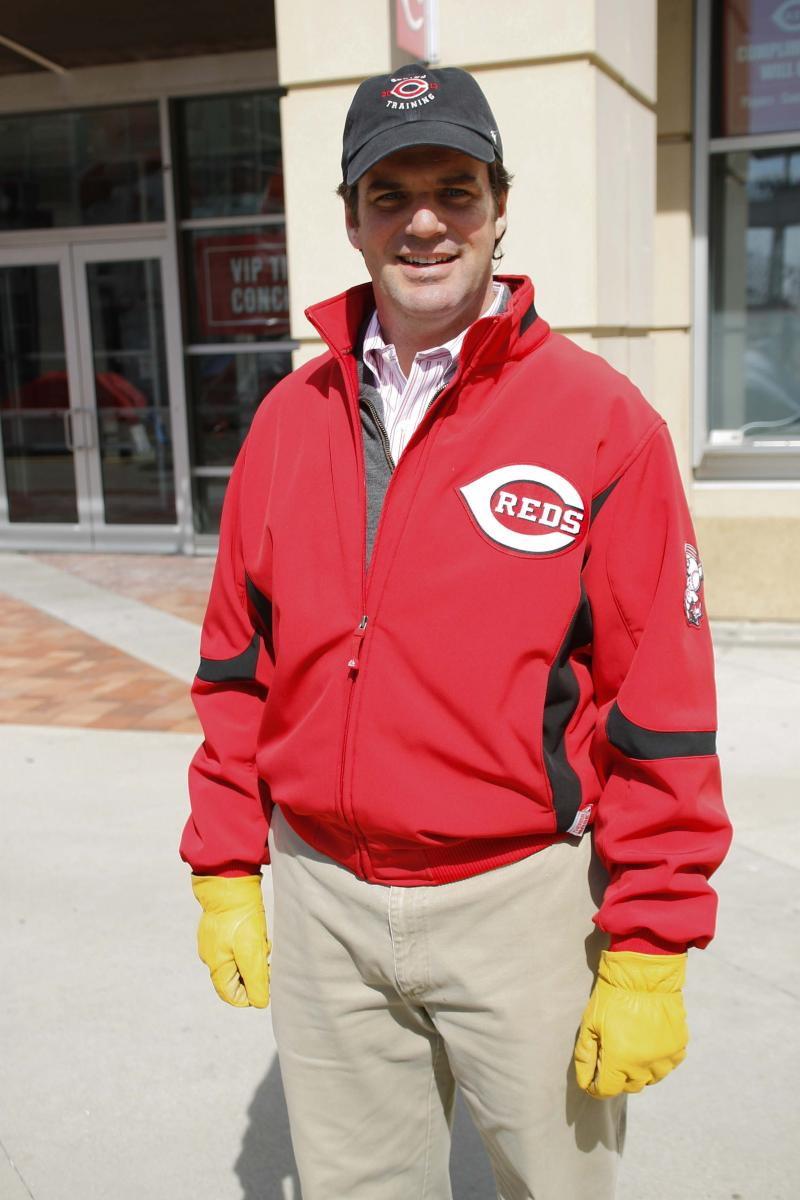 Phil Castellini, Chief Operating Officer of the Reds, enjoys the tradition of fans being able to buy tickets at the box office for the first game of the season.