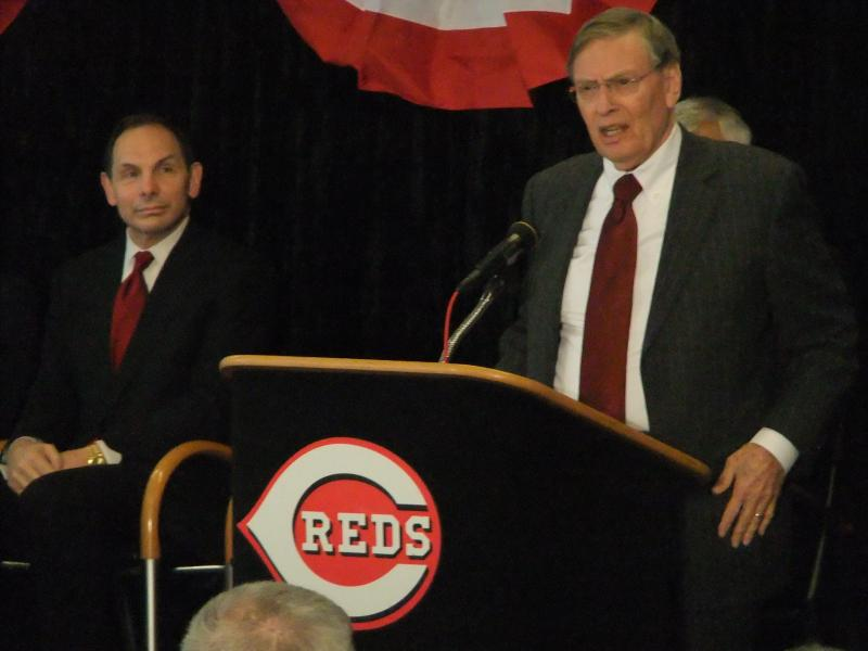 Bud Selig traveled to Cincinnati to name the city the 2015 All-Star host.