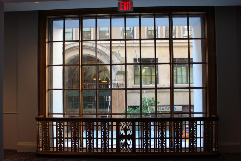 A window highlights Dixie Terminal across the street.