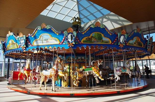Carol Ann S Carousel Opens Saturday With Free Rides Wvxu