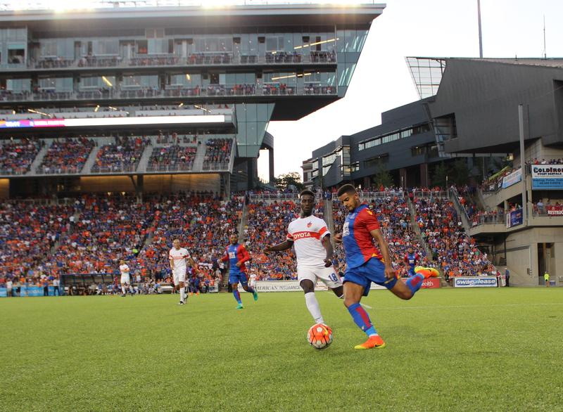 FC Cincinnati held top-flight English Premier League team Crystal Palace FC to just two goals before a sell-out crowd Saturday night.