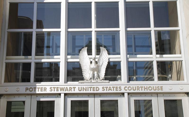 The Western Division of the U.S. District Court for the Southern District of Ohio is housed in Cincinnati at the Potter Stewart Federal Courthouse. There's a second location in Dayton, Oh., as well.