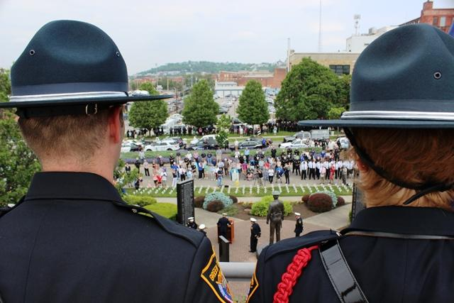 Cincinnati lost four police officers within the last year, but had no line of duty deaths.
