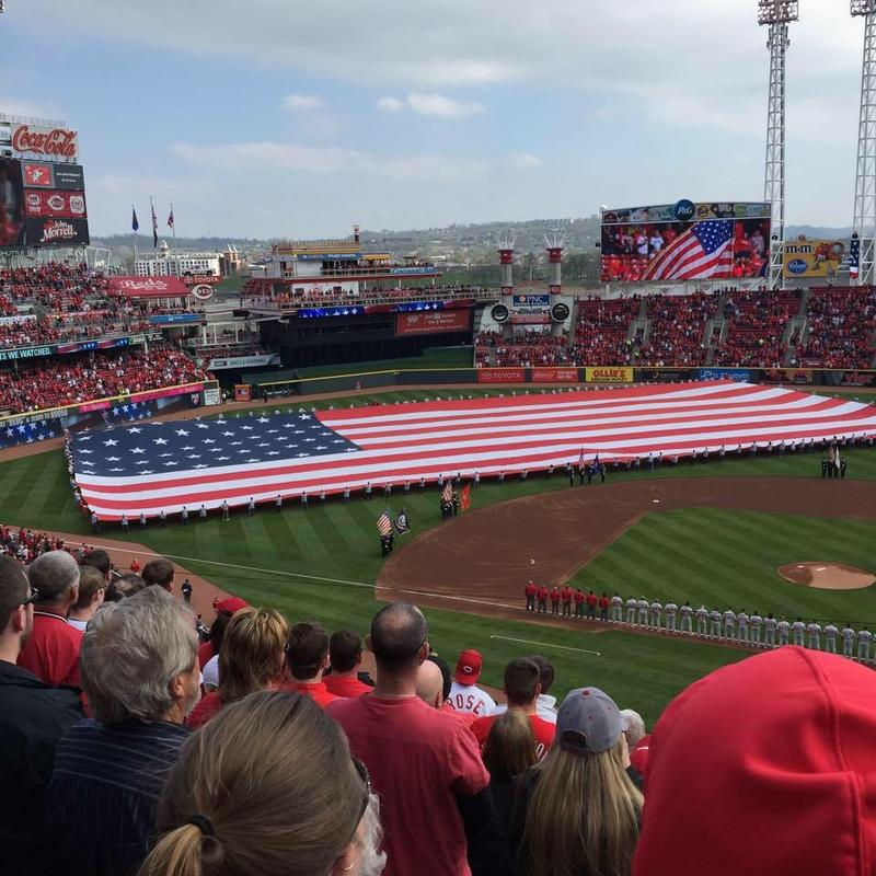 On Opening Day, Great American Ball Park will look like this again.