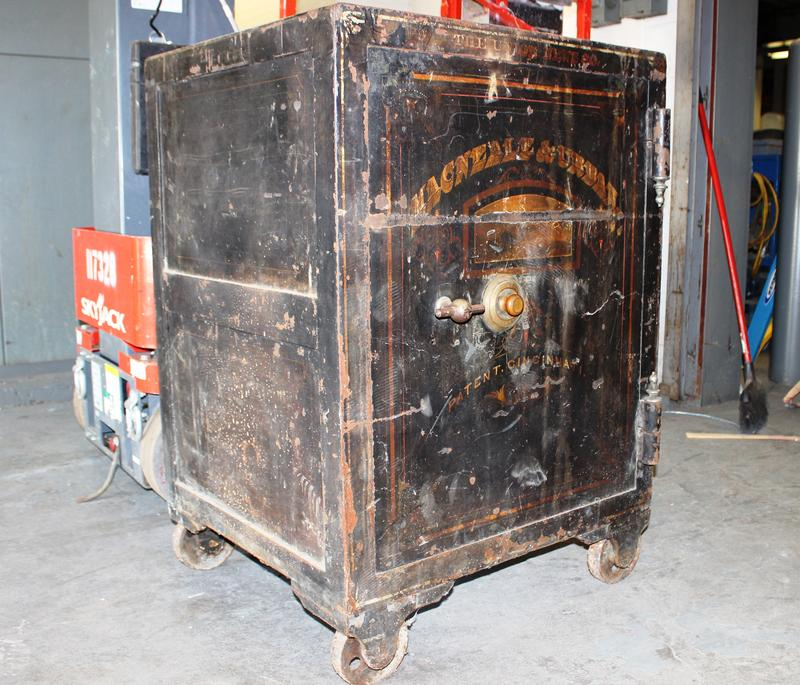 Workers found this safe tucked away in the bowels of Union Terminal. But what's hidden inside?