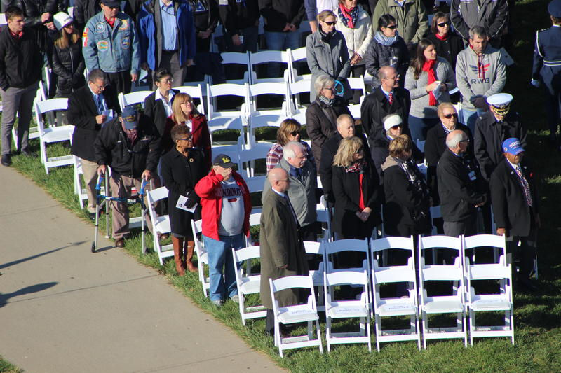 UC began holding the annual Veterans Day ceremony for students in 2005.