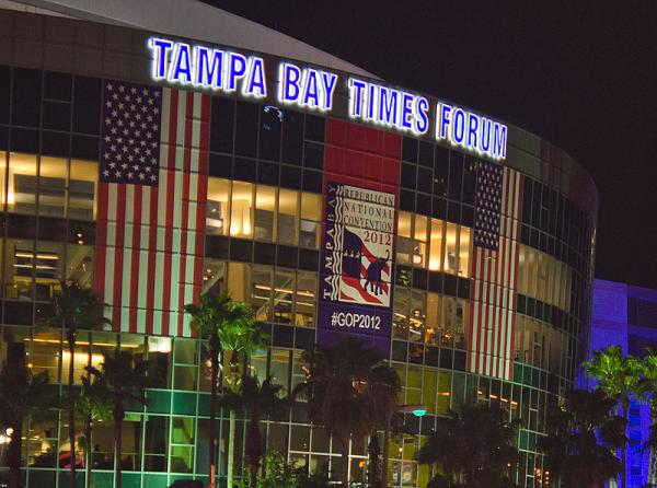 The 2012 Republican Convention was held in Tampa Bay, FL.