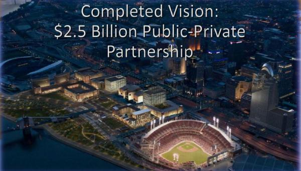 The Banks is currently considered the largest public/private partnership project in the country.