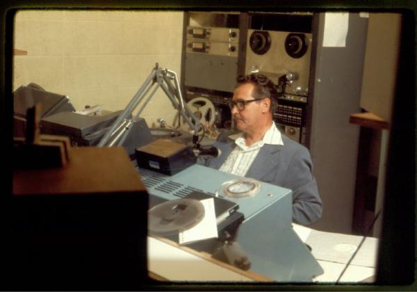 WGUC announcer Paul Laumann