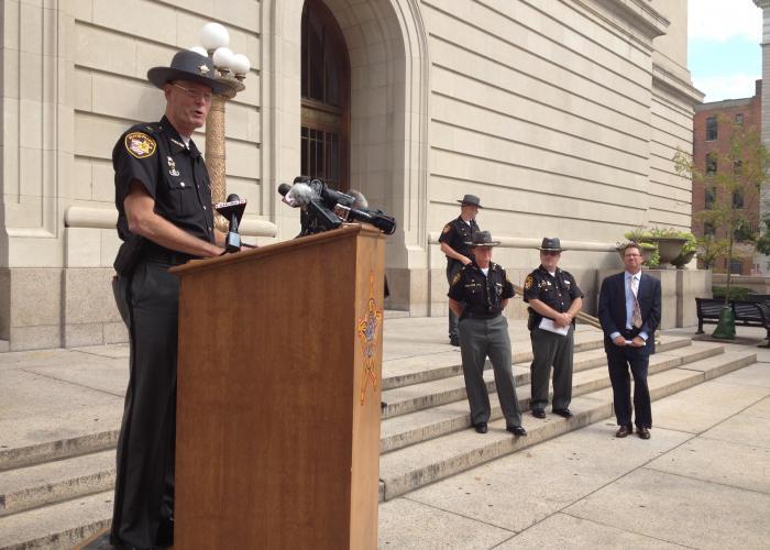 Hamilton County Sheriff Jim Neil Wvxu