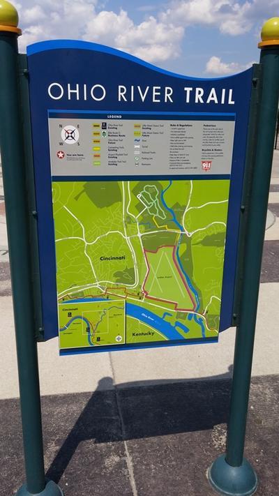 Bike Trails In Ohio Map.Reconstruction Coming For Hike Bike Trail Wvxu