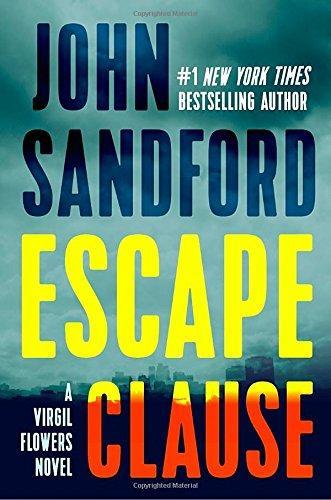 "Bestselling Novelist John Sandford's Latest Virgil Flowers Book, ""Escape Clause"""