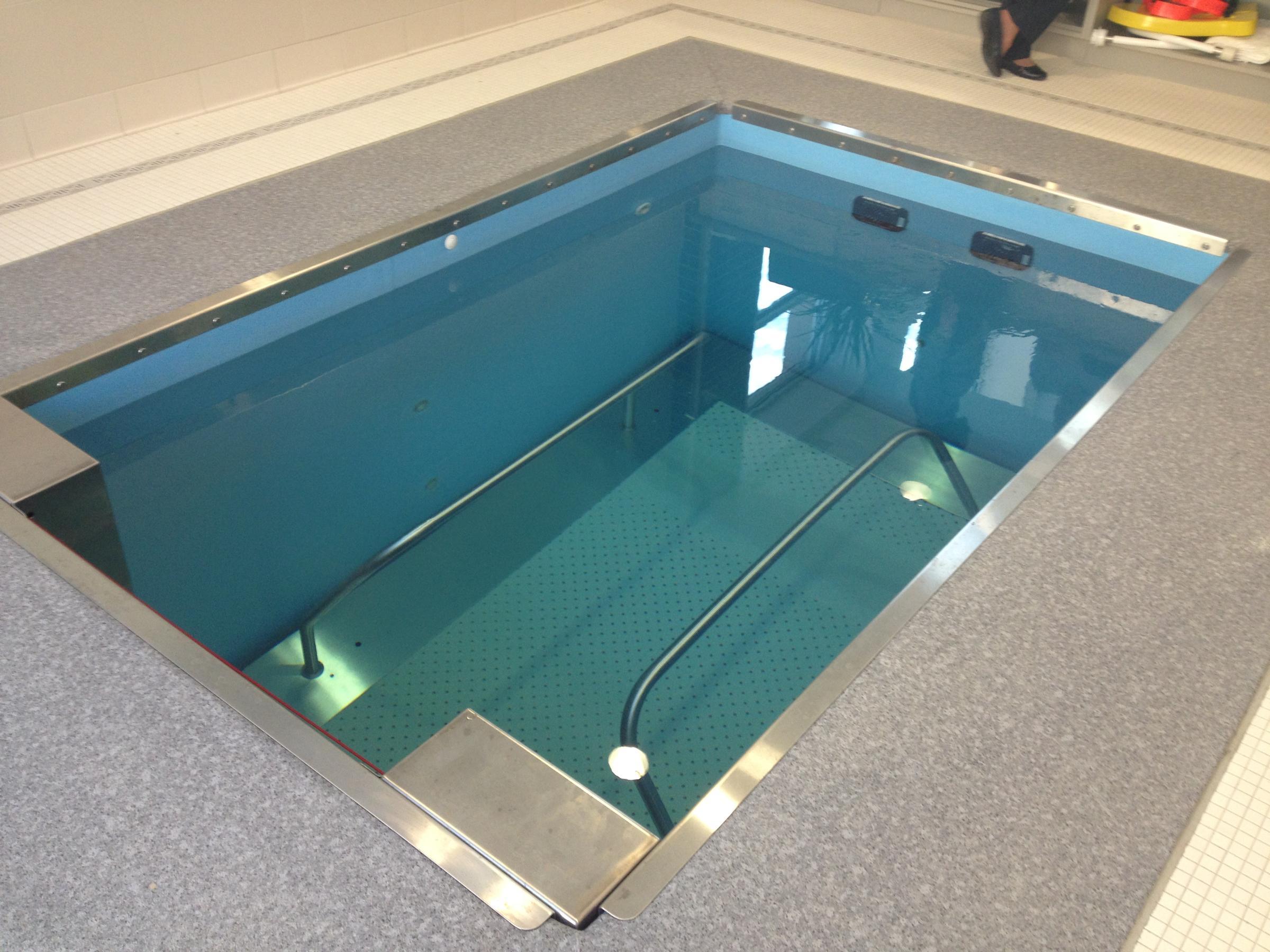 Cedar Village Pool Doubles As Treadmill Wvxu