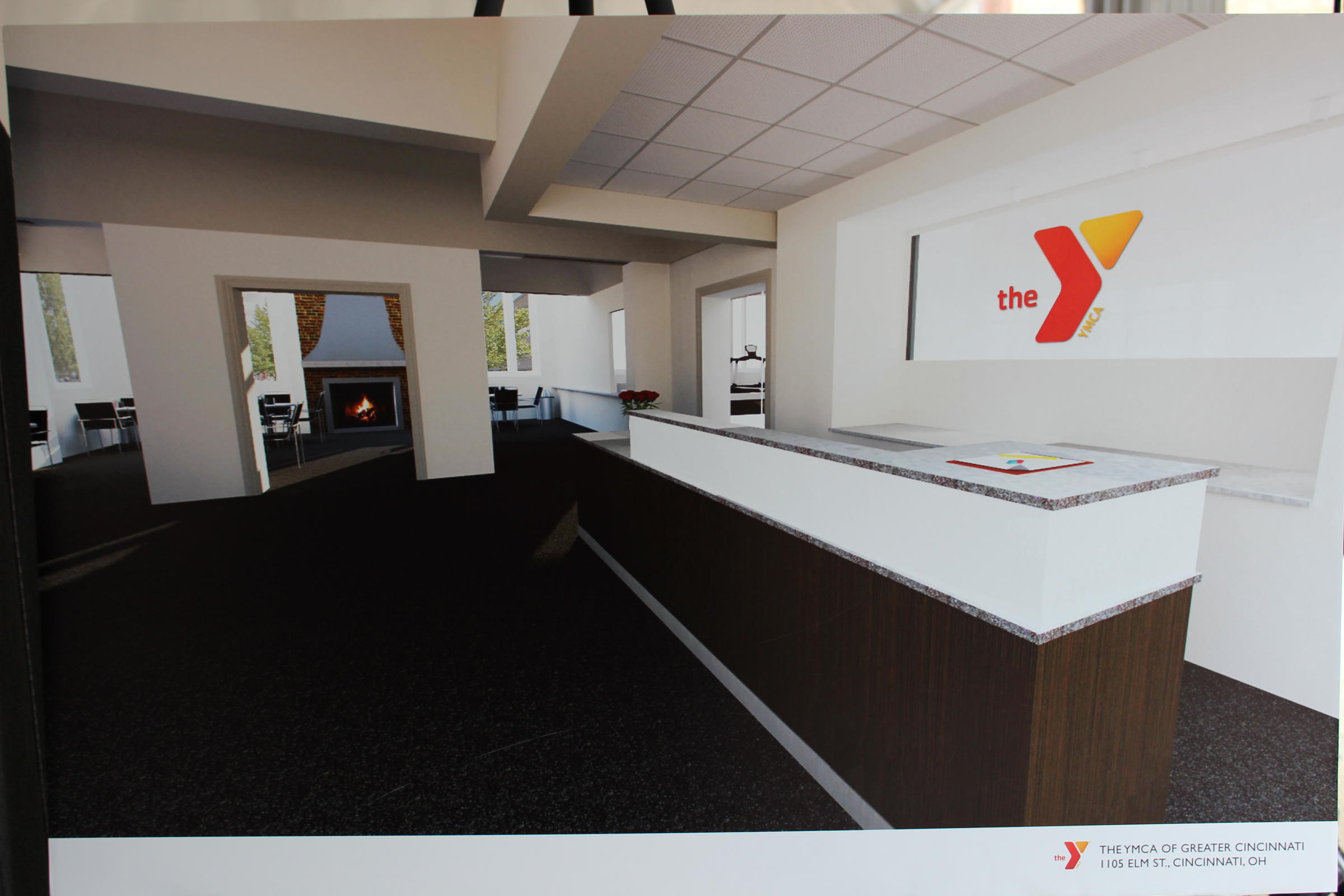 Central parkway ymca renovation plans unveiled wvxu for Renovation drawings