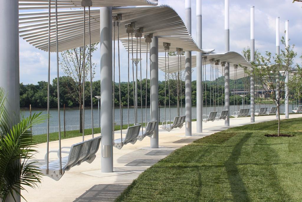 New Swings Open At Smale Riverfront Park Wvxu