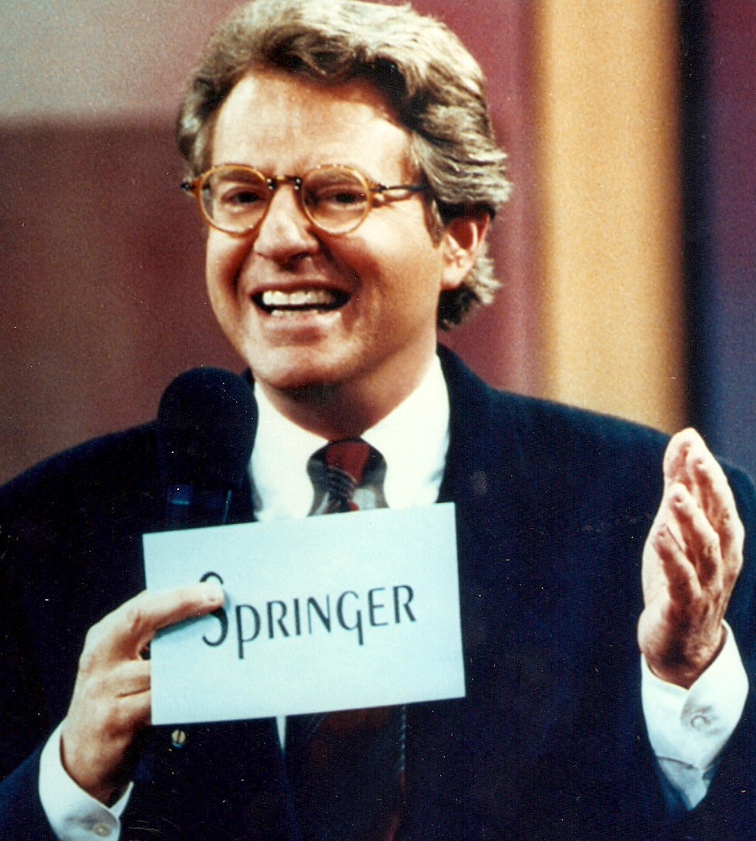 jerry springer not the father