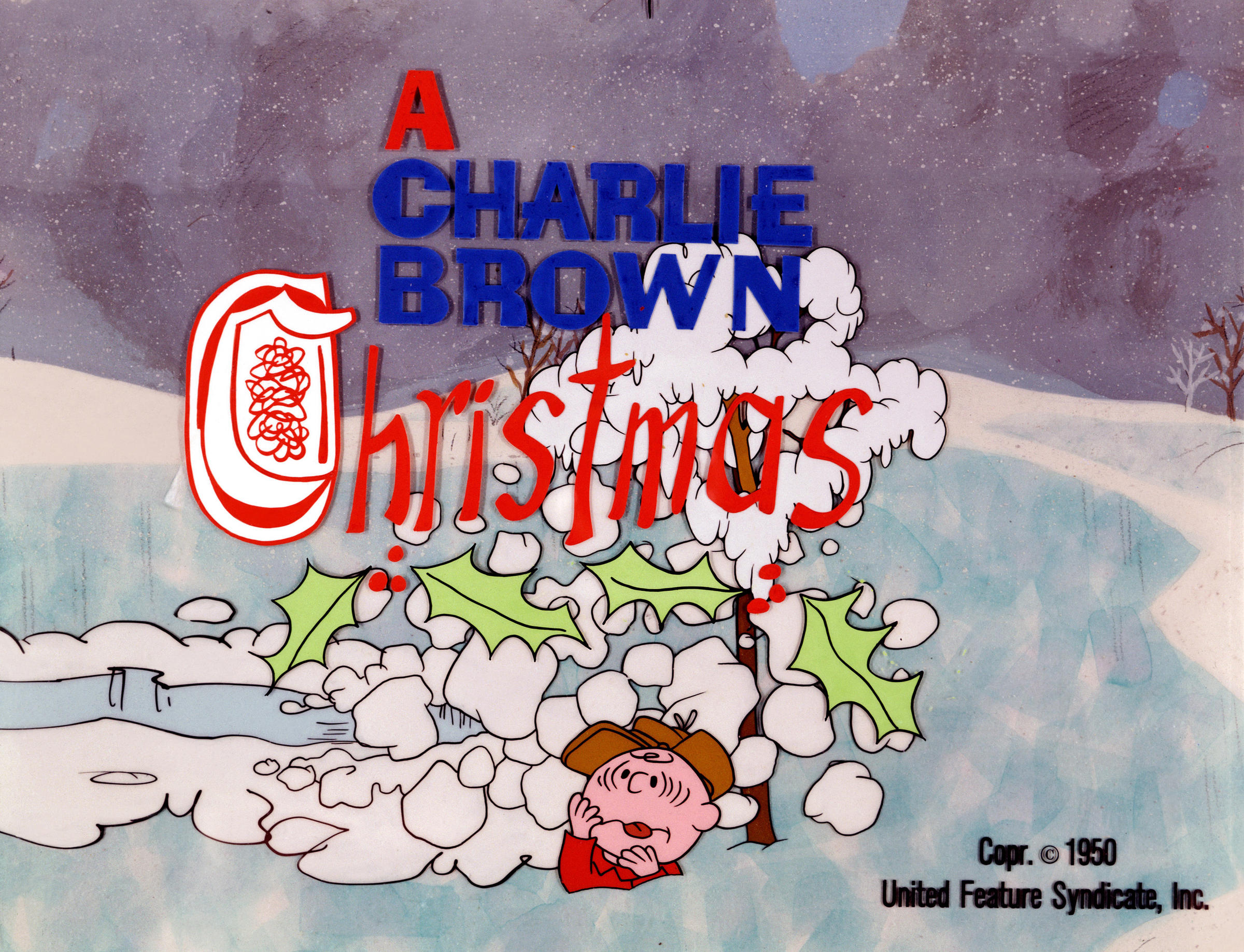 credit united feature syndicate - Peanuts Christmas Special