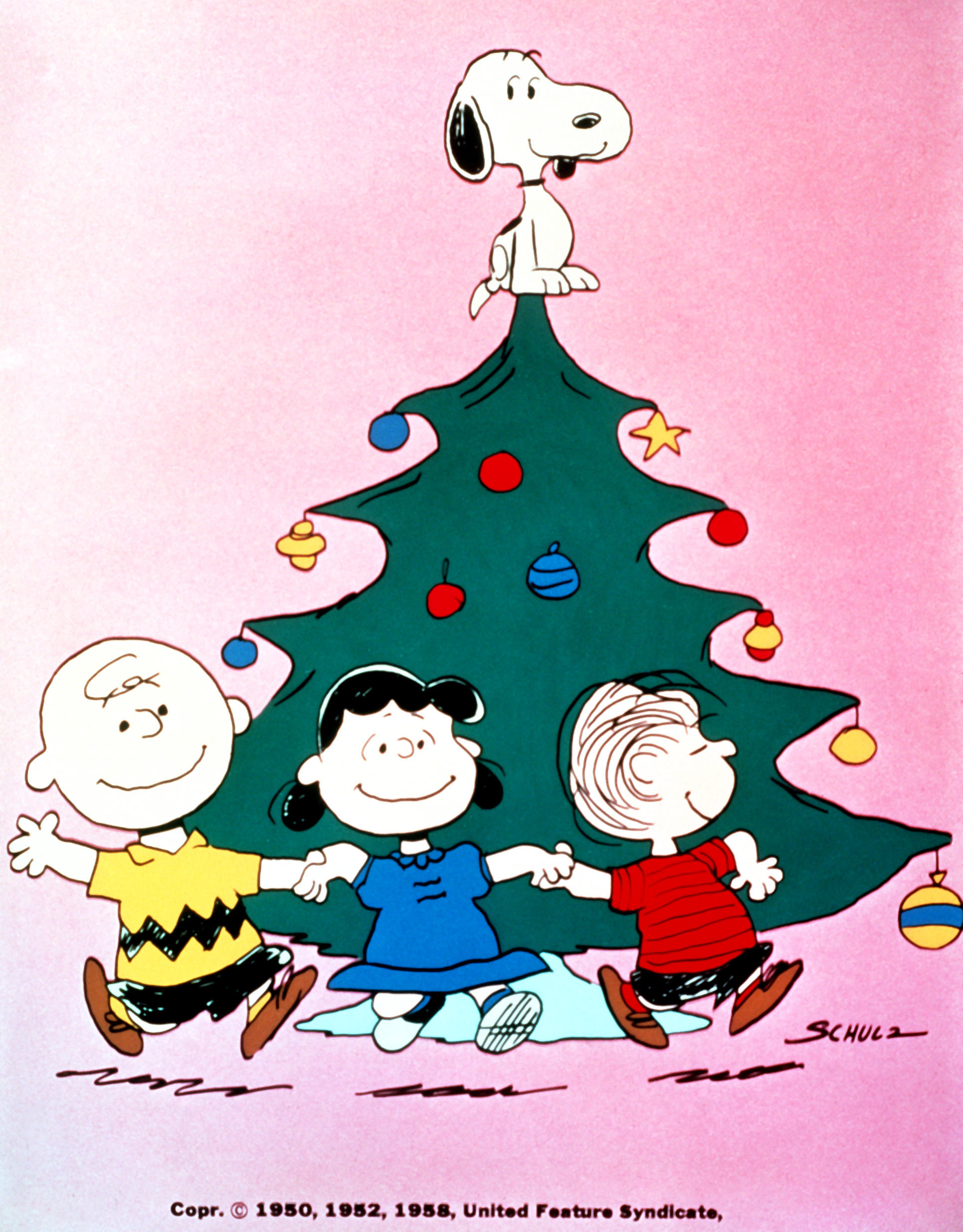 abc celebrating 50 years of a charlie brown christmas