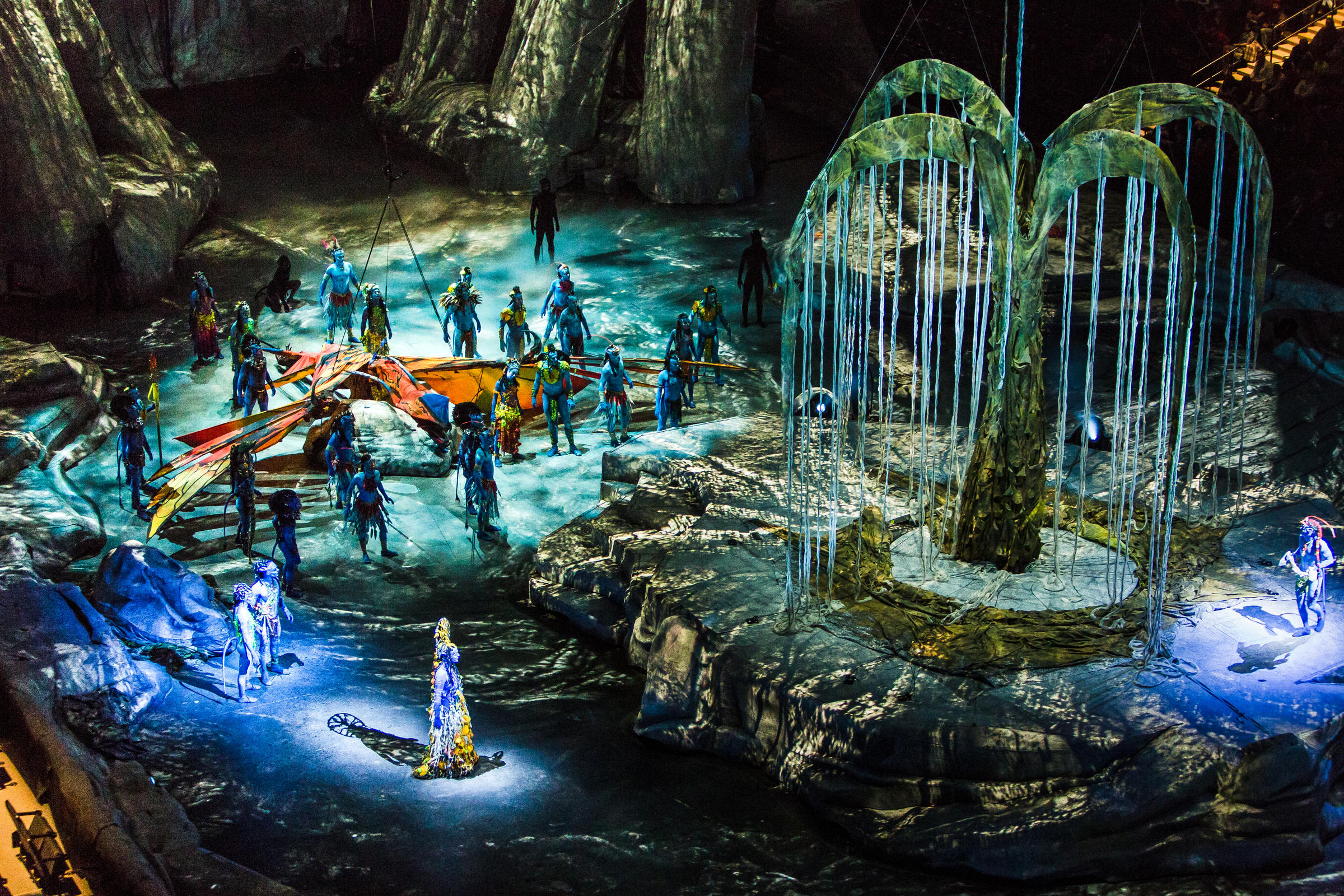 cirque du soleil toruk  Cirque Wows Audiences With Toruk Technology | WVXU