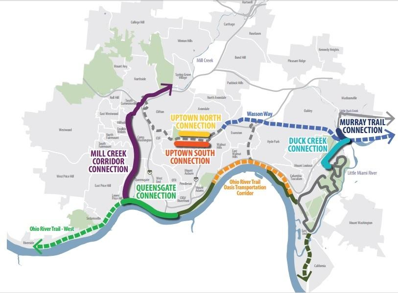 Bike Trails In Ohio Map.Request For Bike Trail Funding Falls Flat Wvxu