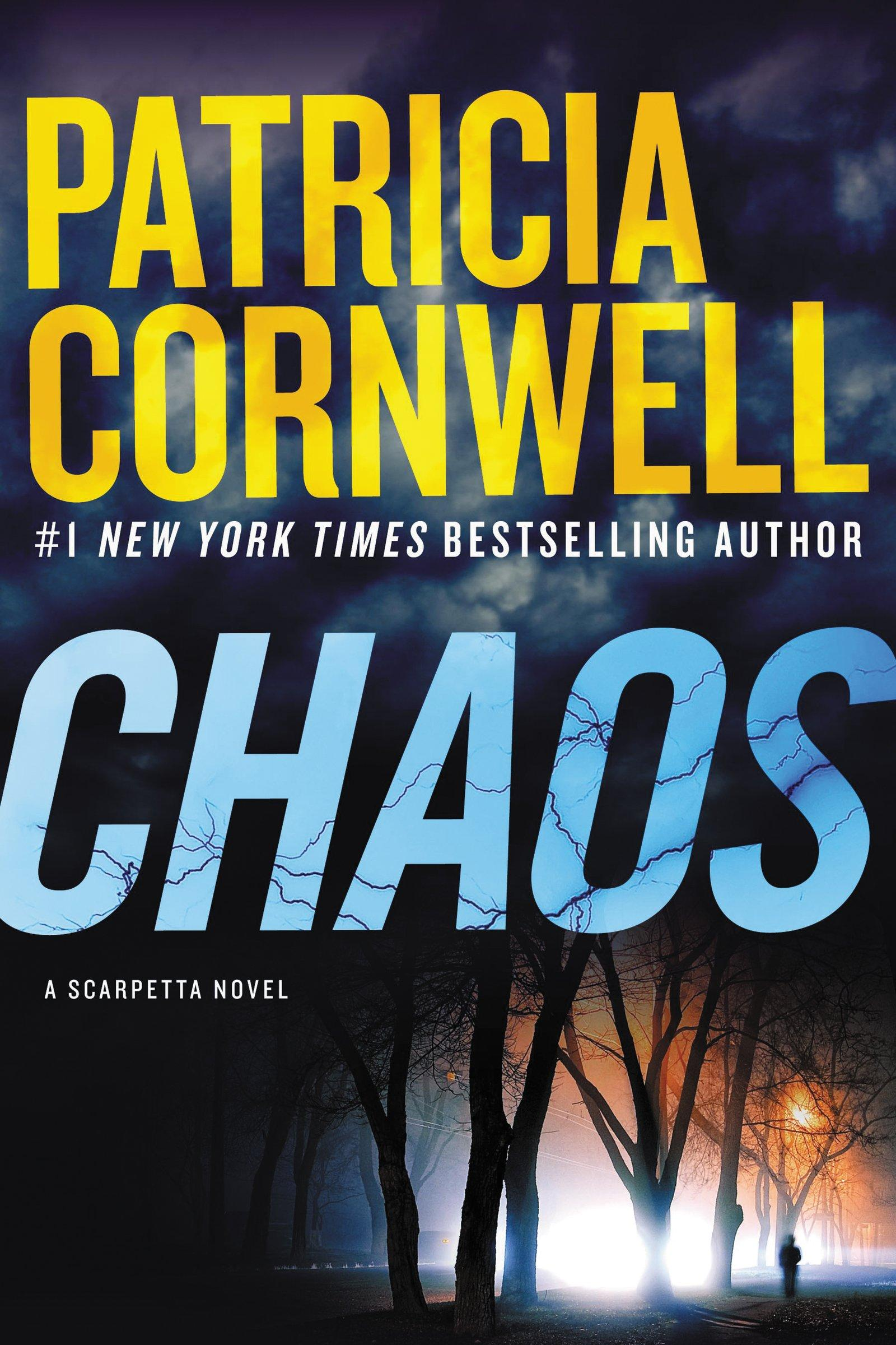 u0026quot chaos u0026quot  is the latest dr  kay scarpetta bestseller from