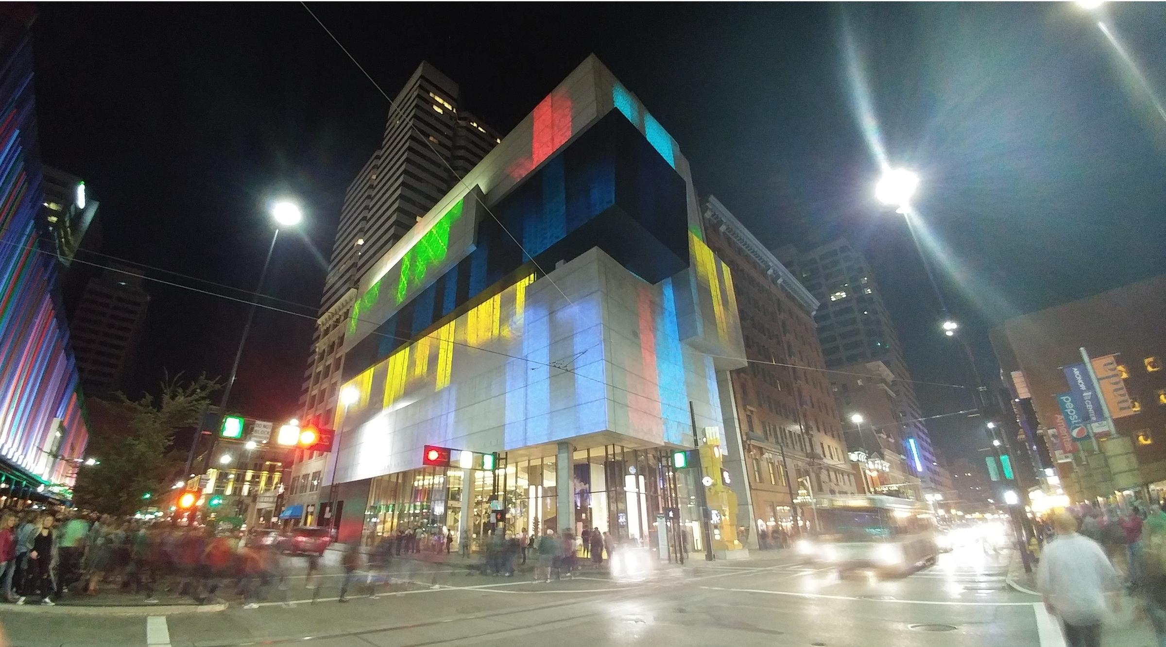 The Contemporary Arts Center was one of 22 projection sites in the first Blink festival. & Blink Brings Estimated One Million People To Downtown Cincinnati ... azcodes.com