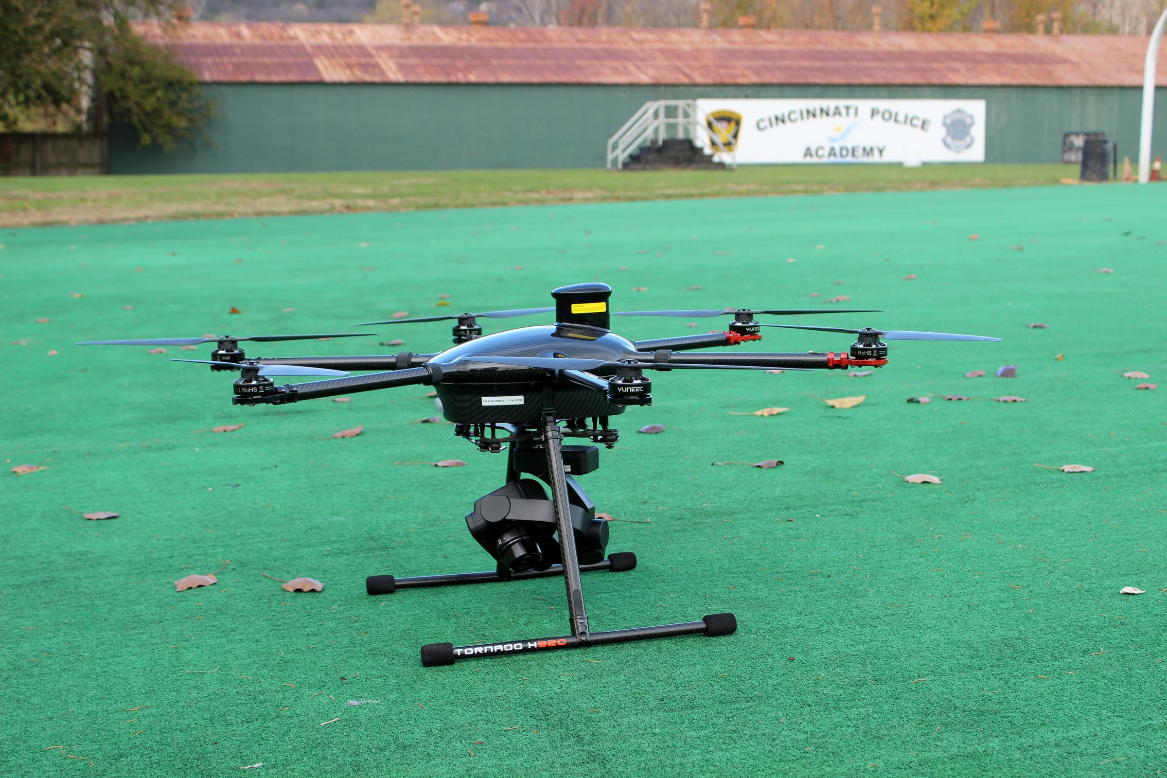 Cincinnati Police Using Drones To Speed Up Accident Investigations ...