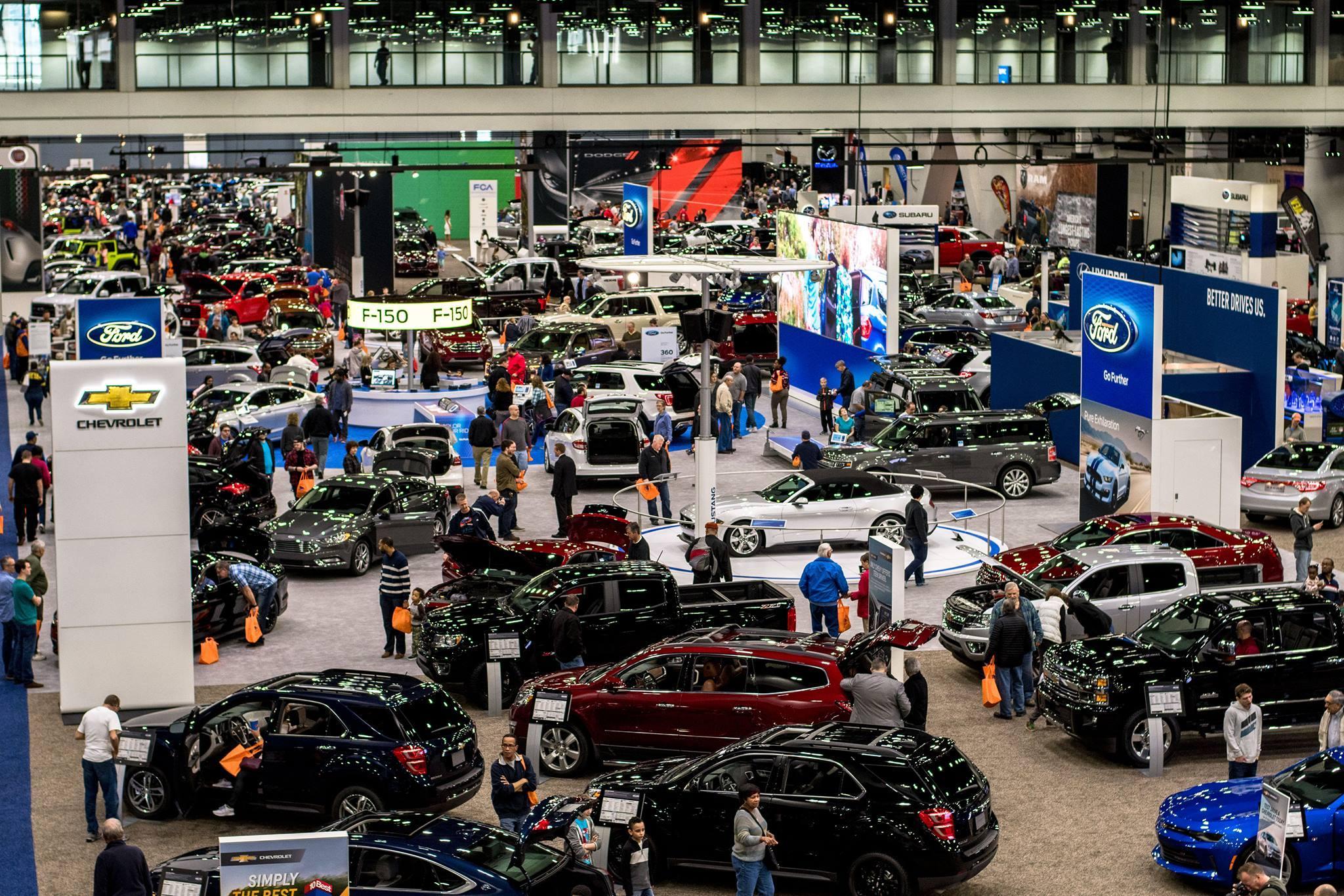 Cincinnati Auto Expo Highlights Industry Trends WVXU - Car show in cincinnati this weekend