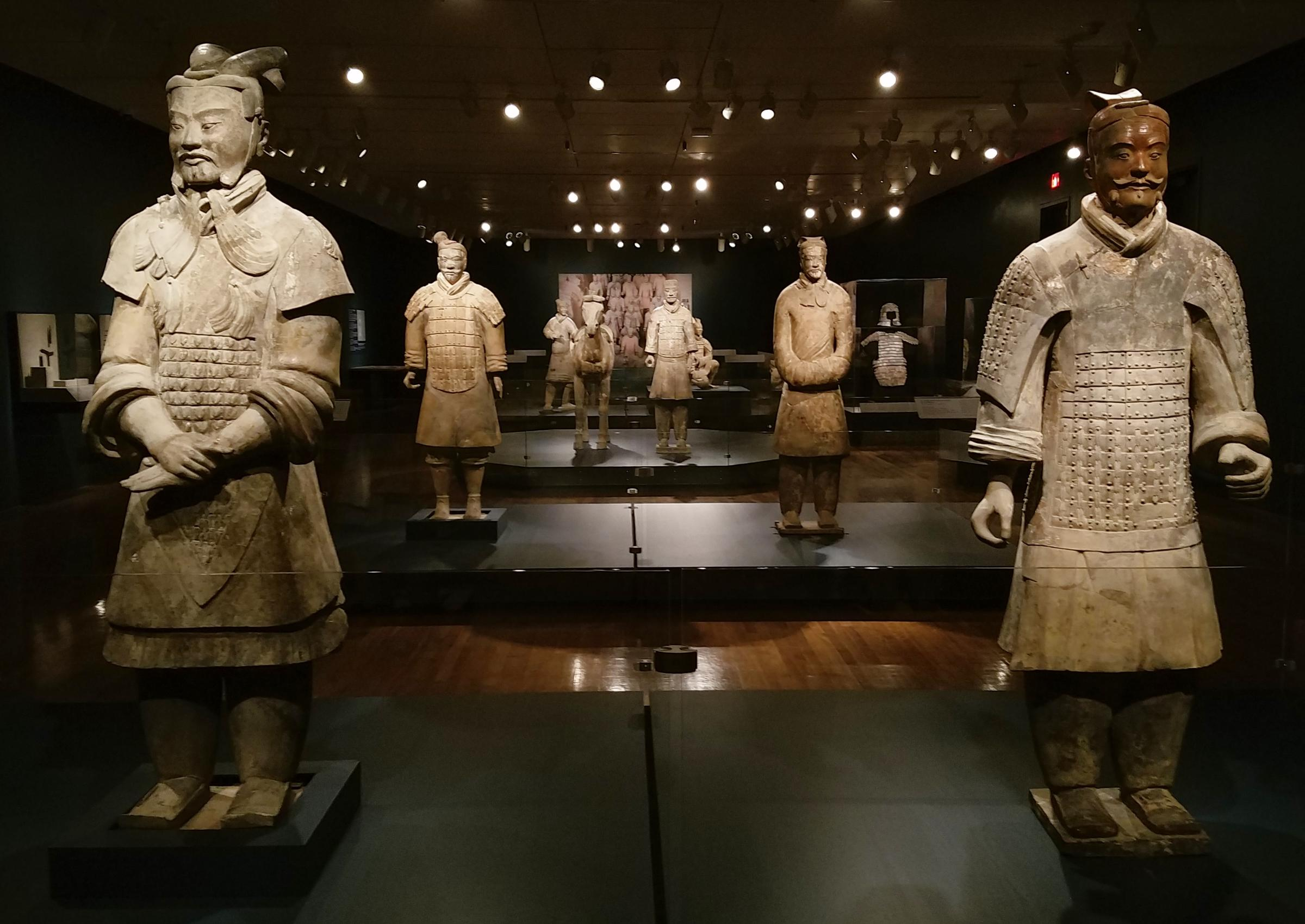 PHOTOS: Inside The Terracotta Army Exhibit At The ...