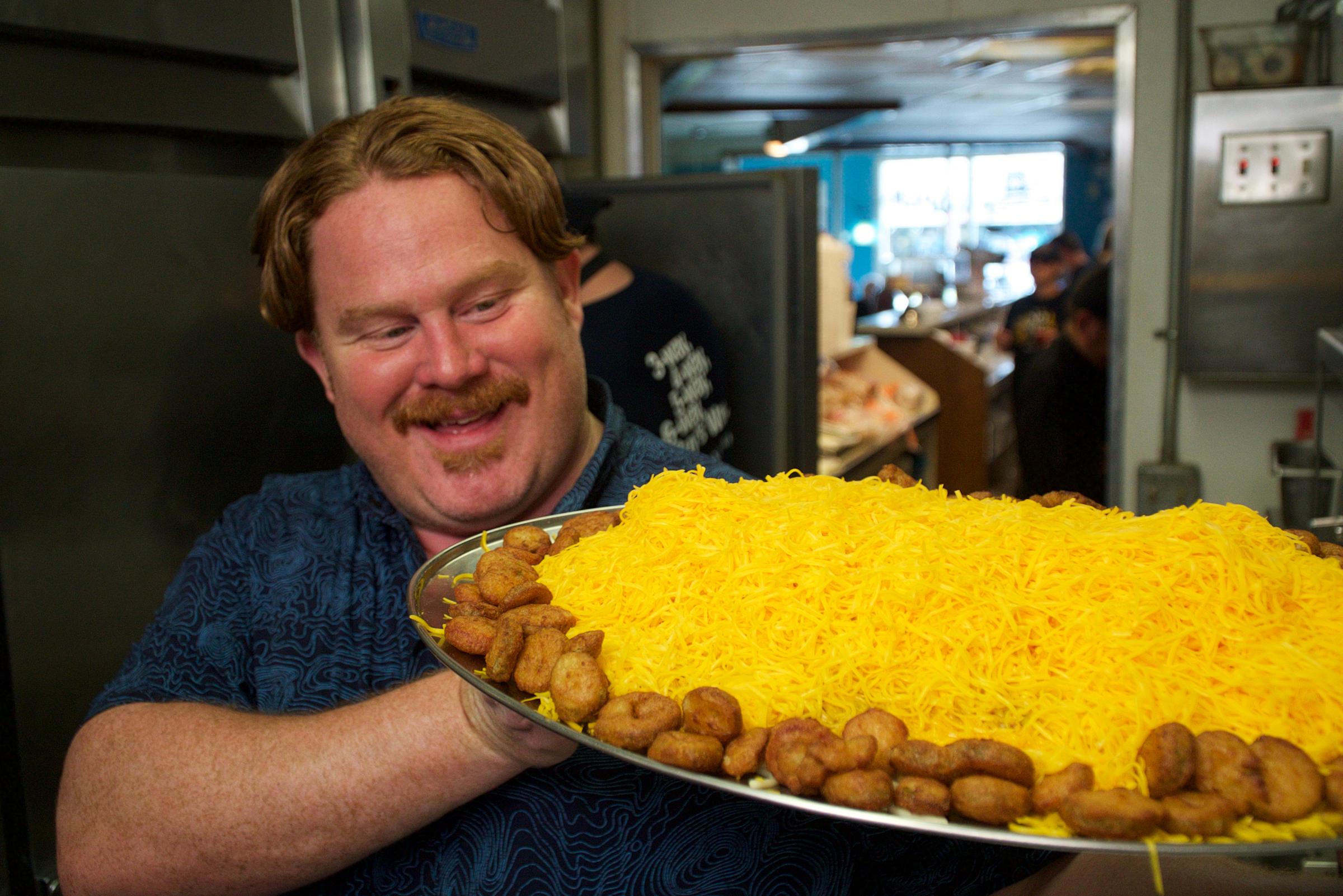Man V Food Cincinnati Episode Includes Visit With Fiona Wvxu