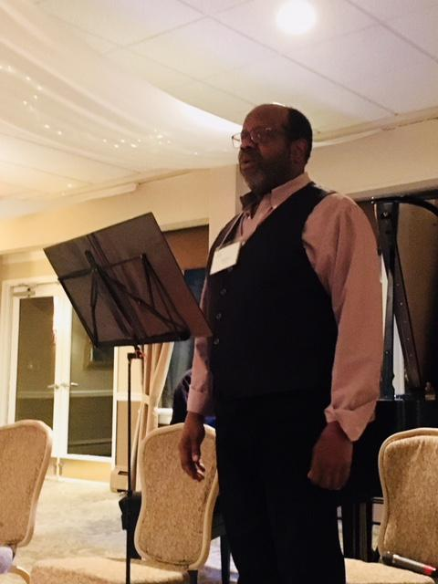 Bass-baritone Kevin Deas performs Deep River as a preview of an upcoming PostClassical performance to be held in Princeton in February.