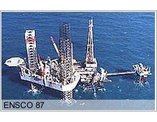 The Ensco 87 rig.
