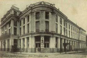 The French Opera House, before the fire.