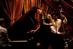 Sasha Masakowski, playing Irvin Mayfield's Jazz Playhouse in 2011.