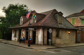 Lafitte's Blacksmith Shop.
