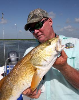 Buras fishing guide Ryan Lambert.