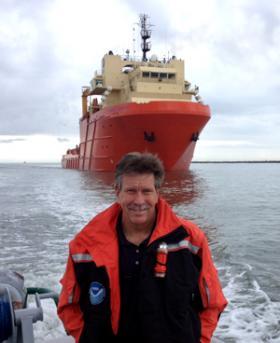 NOAA researcher Tim Osborn.