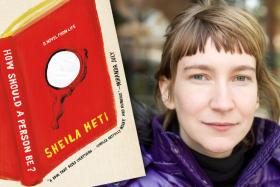 Author Sheila Heti.